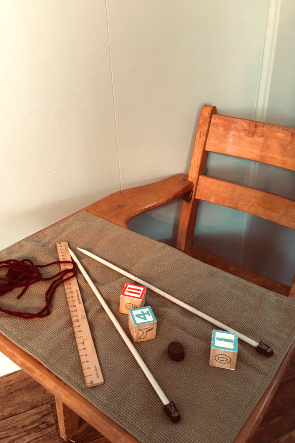 supplies for fishing rod preschool math activity