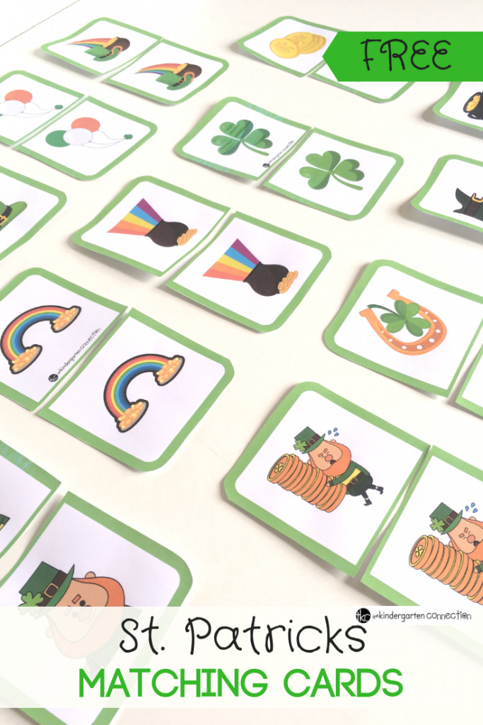St Patrick's day Matching Game image by Kindergarten Connection