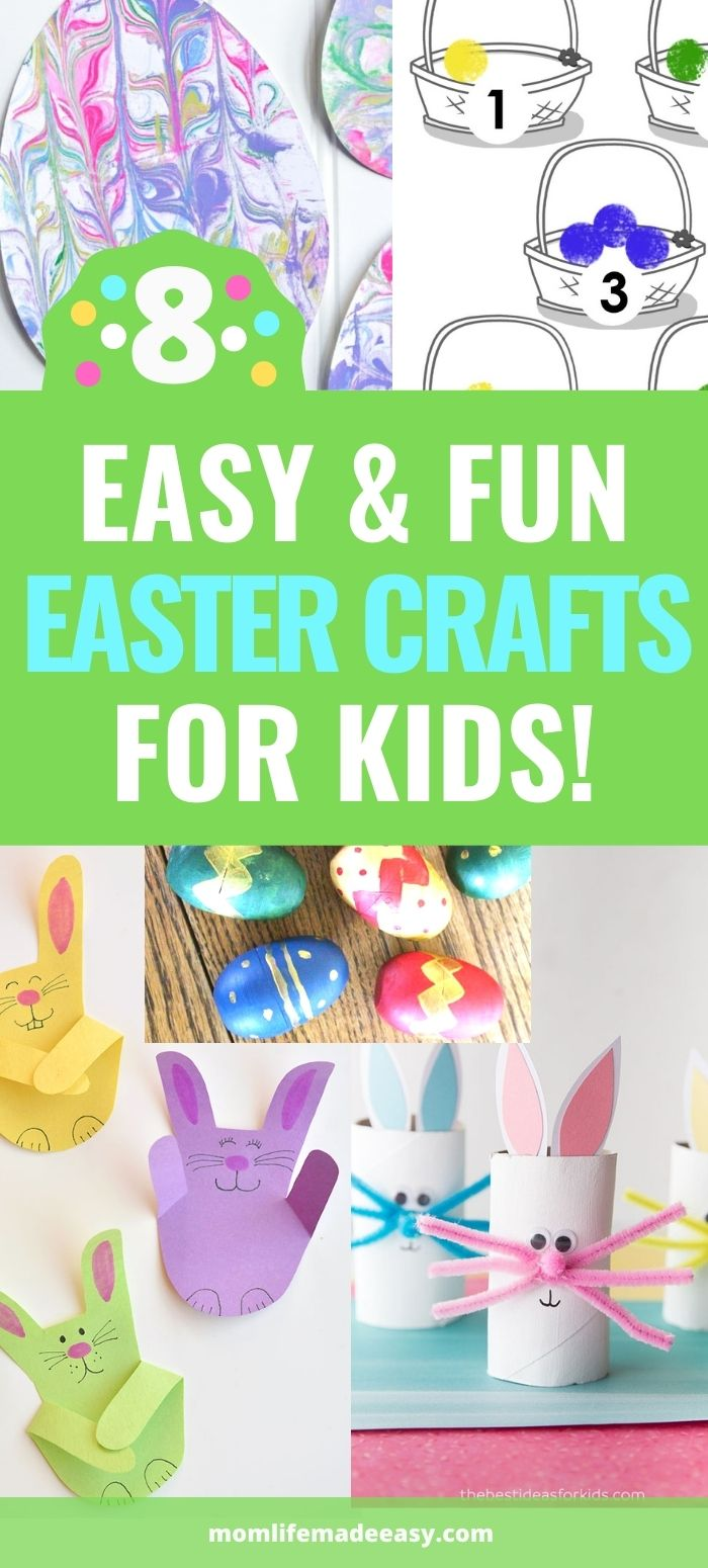 easy & fun easter arts and crafts ideas promo image