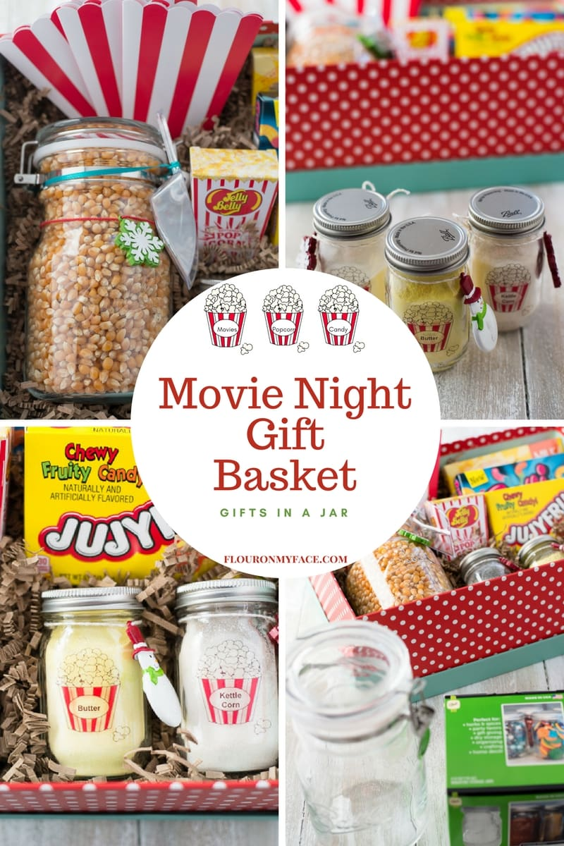 DIY Father's Day Movie Night Gift basket