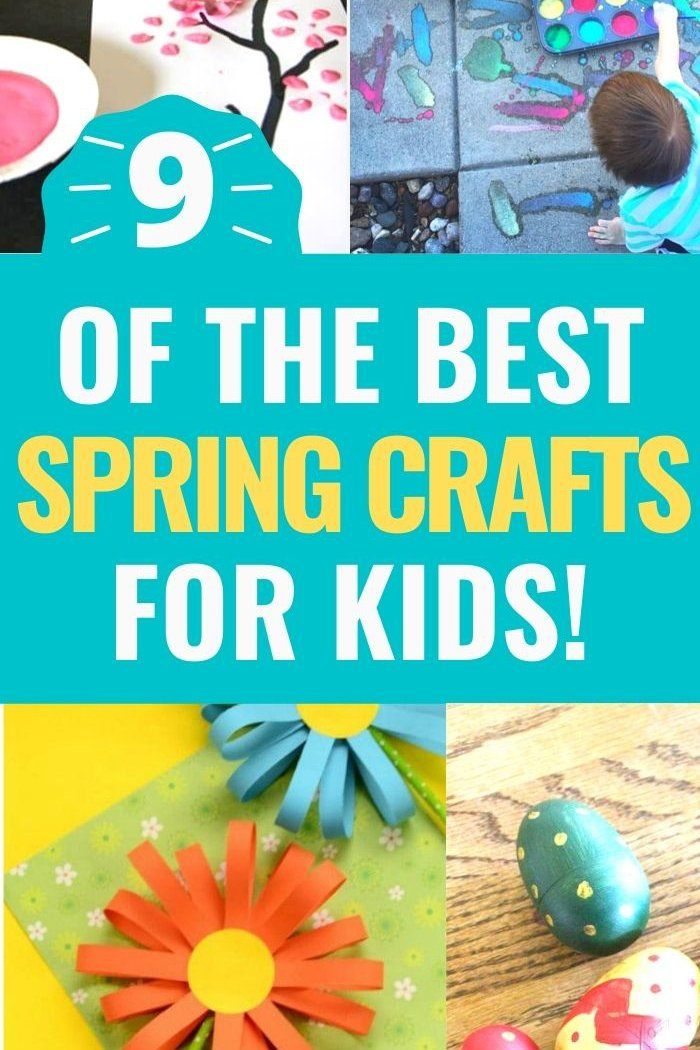 spring crafts for kids promo image