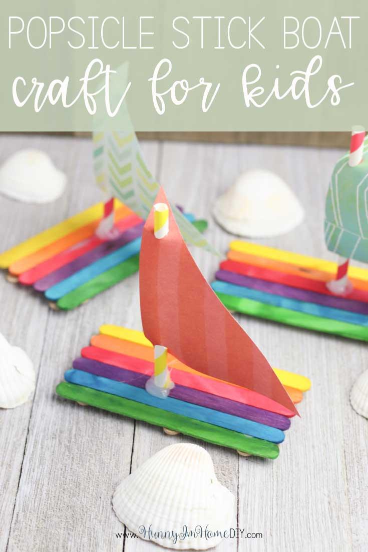 floating boat craft for kids