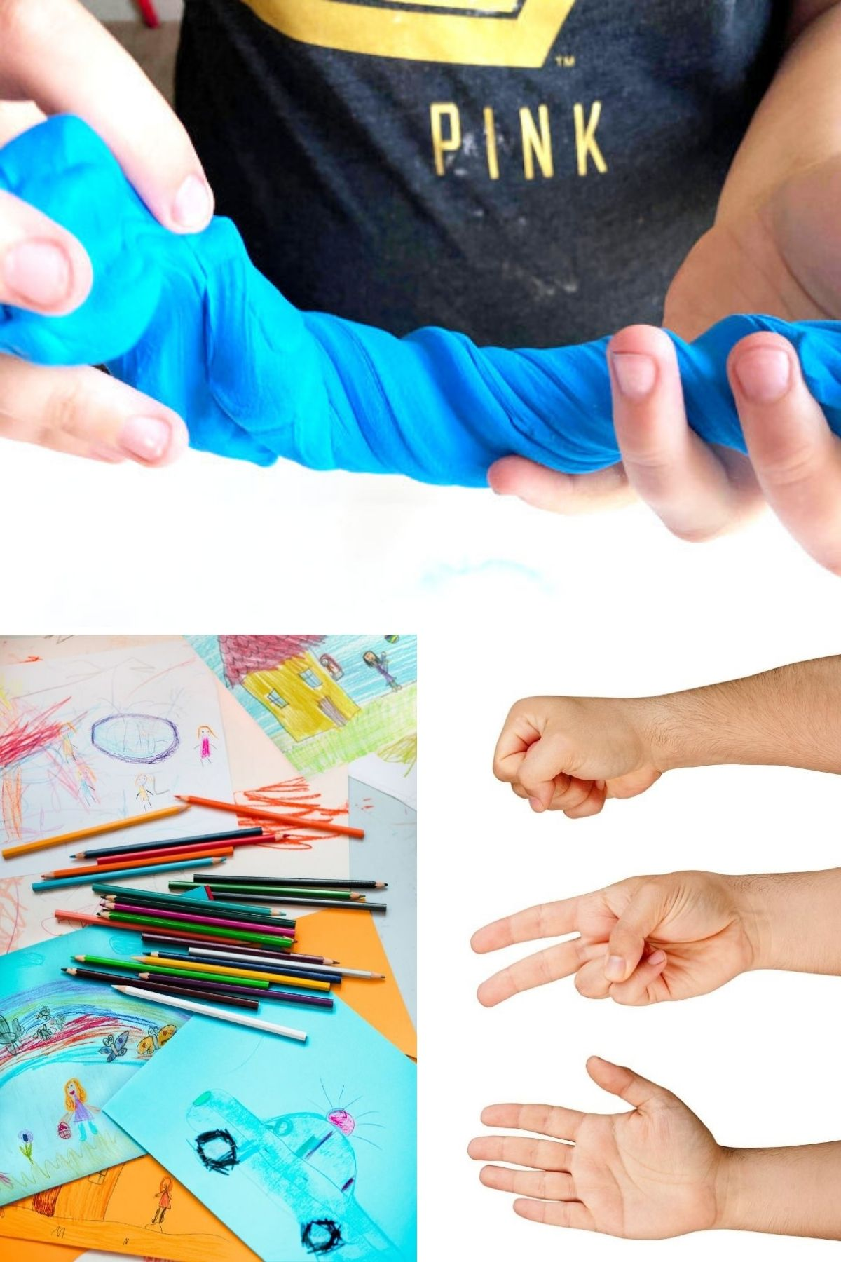 22 indoor activities for kids photo collage promotional image
