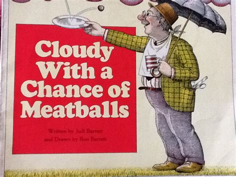 cloudy with a chance of meatballs book cover